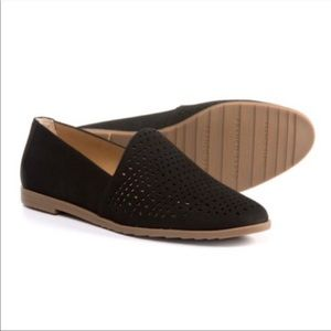 Franco Sarto Eyelet Factors Perforated Loafers